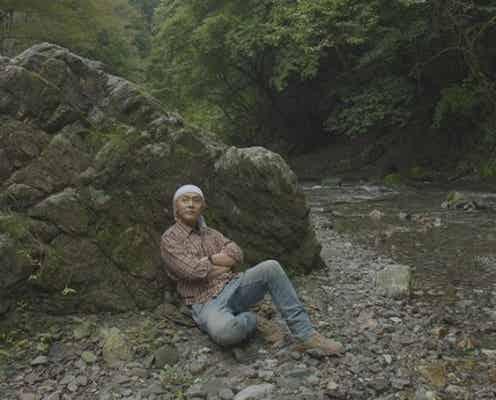 """""""大きな岩""""に惚れ込んだヒロシ。雨の中、岩のそばで焚き火をしようと試みる<ヒロシのぼっちキャンプ Season4>"""