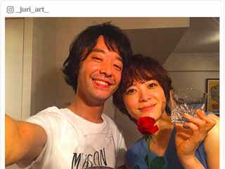 結婚発表の上野樹里「私は幸せです」夫・和田唱と2ショットでファンへ報告