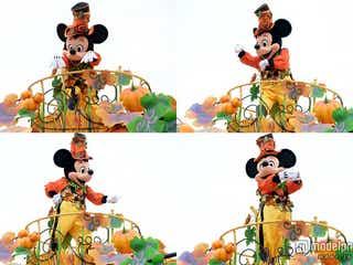 ディズニーランド、ミッキーが可愛すぎる決めポーズ「ハッピーハロウィーンハーベスト」<全フロート解説/写真特集>