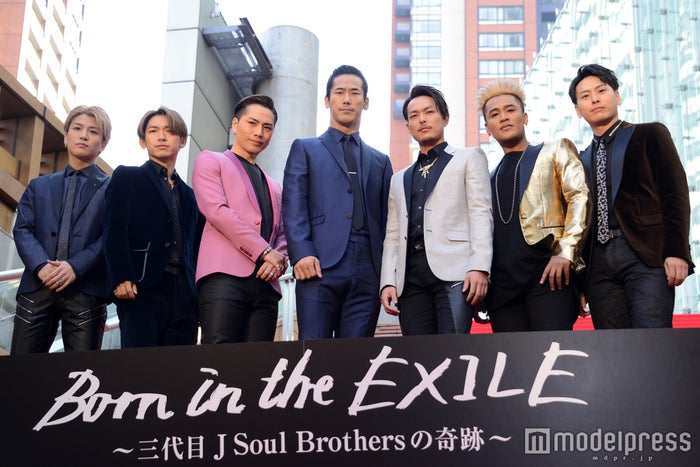 三代目J Soul Brothers from EXILE TRIBE(C)モデルプレス
