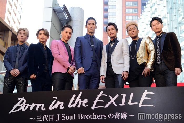 三代目J Soul Brothers from EXILE TRIBE(C)モデルプレス