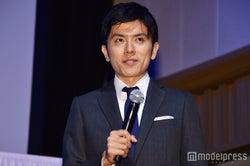 MCをつとめた青木源太アナウンサー(C)モデルプレス