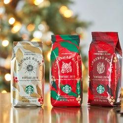 「スターバックス」から、ホリデー気分を盛り上げる3種のクリスマスブレンドが登場!