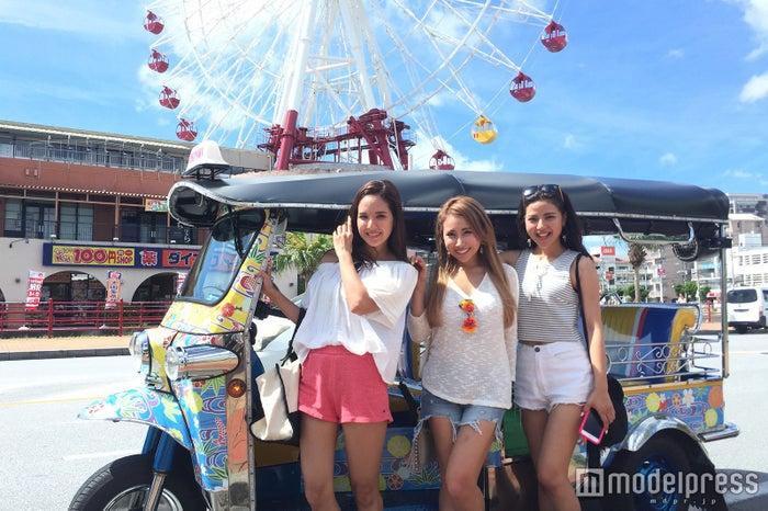 トゥクトゥクで沖縄中をドライブ/画像提供:沖縄トゥクトゥク