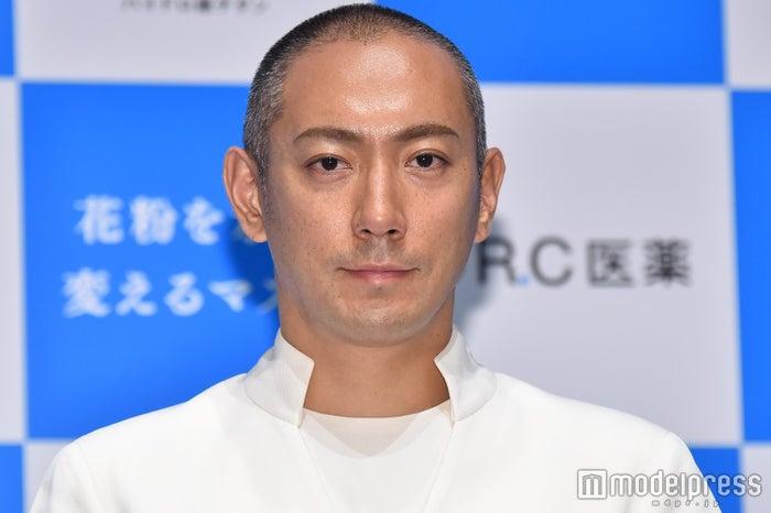 イベントに出席した市川海老蔵 (C)モデルプレス