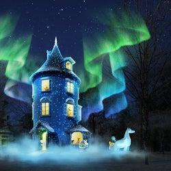ムーミンバレーパークで初イルミ、光・音・映像が織りなす冬物語を体験