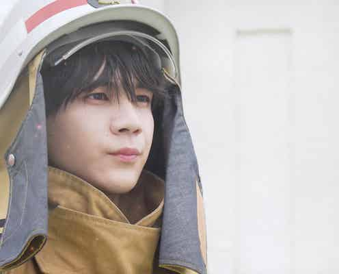 JO1豆原一成、レスキュー隊員役で火災に立ち向かう「テーピングをして…」