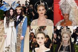"""""""ファッションと宗教の融合""""に衝撃 全身GUCCIのキリストや""""法王風""""、天使も登場<MET GALA2018>"""