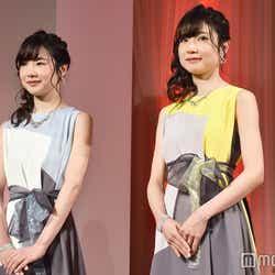 フリー素材アイドルのMika+Rika (C)モデルプレス