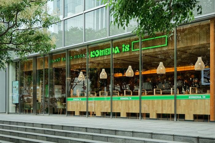 KOMEDA is □東銀座店/画像提供:コメダ
