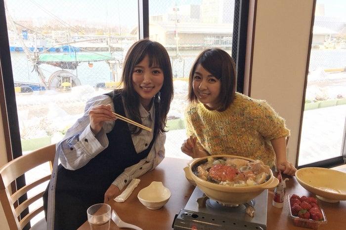 (左から)夏菜、柳ゆり菜(C)TBS