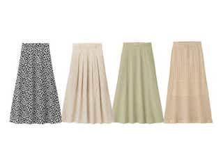 【GU】名品スカート4選&おしゃれな着こなし術