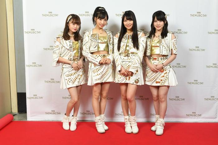 中井りか、小栗有以、白間美瑠、岡部麟(画像提供:日本テレビ)
