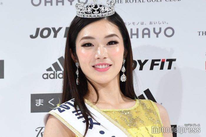 「ミス・ワールド2018」日本代表・伊達佳内子さん (C)モデルプレス