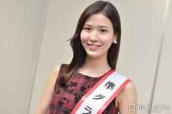"""""""日本一の大学サークル看板娘""""準グランプリは小顔の理系美女!スタイルキープの秘訣・好きな男性は?"""