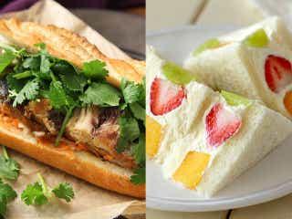 【保存版レシピ】定番も、わんぱくも、デザートも! どんなシーンでも喜ばれる絶品「サンドイッチ」5選