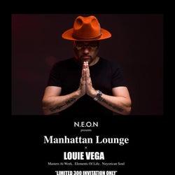 完全招待制パーティー「Manhattan Lounge」に米グラミー賞アーティスト「Louie Vega / ルイベガ」が登場