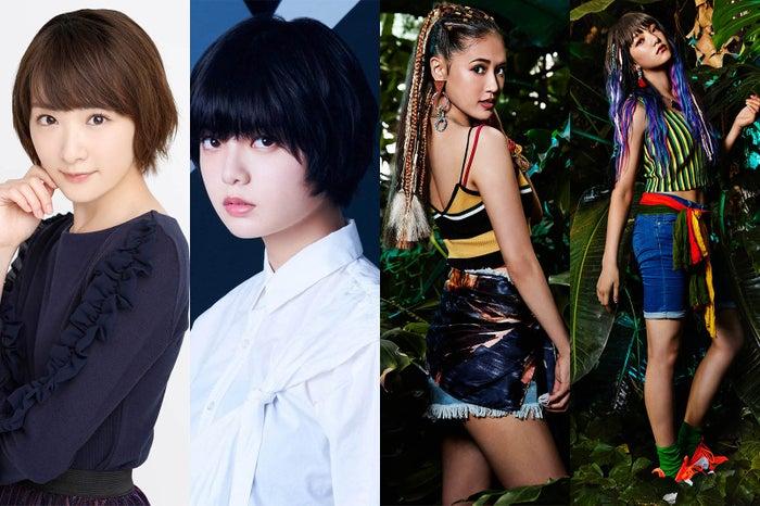 (左から)生駒里奈、平手友梨奈、藤井夏恋、須田アンナ(提供写真)