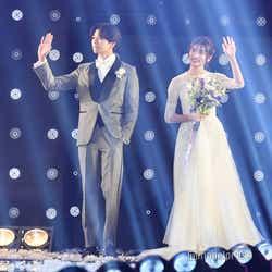 モデルプレス - 新田真剣佑&吉川愛、タキシード&ウエディングドレス姿でCM撮影現場の様子明かす