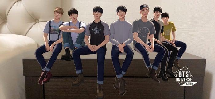 BTS新作ゲームに「クオリティが高い」「愛しすぎて萌える」 ファンの妄想を叶える「BTS Universe Story」を体験