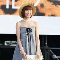 モデルプレス - NMB48渡辺美優紀、髪ばっさりボブ×大胆素肌魅せで堂々ランウェイ