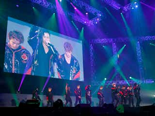 THE RAMPAGE、大トリ飾り幕張メッセ一体に 新曲も披露<LIVE MONSTER LIVE>
