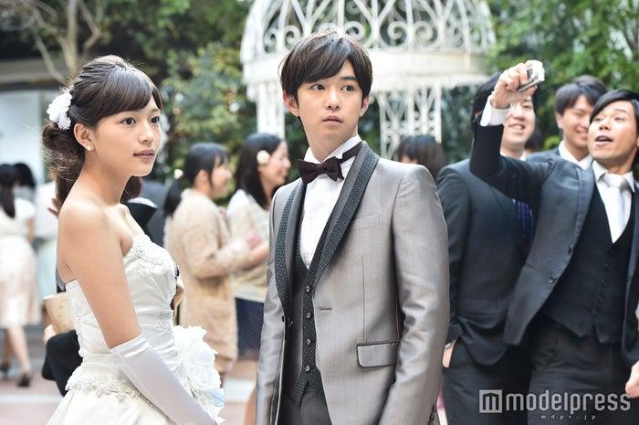 川口春奈、千葉雄大/「家族ノカタチ」第5話場面カット画像提供:TBS