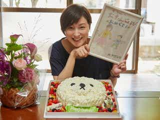 広末涼子、相葉雅紀主演ドラマ撮影現場でサプライズ受ける「こんなのはじめて見た!!」<僕とシッポと神楽坂>