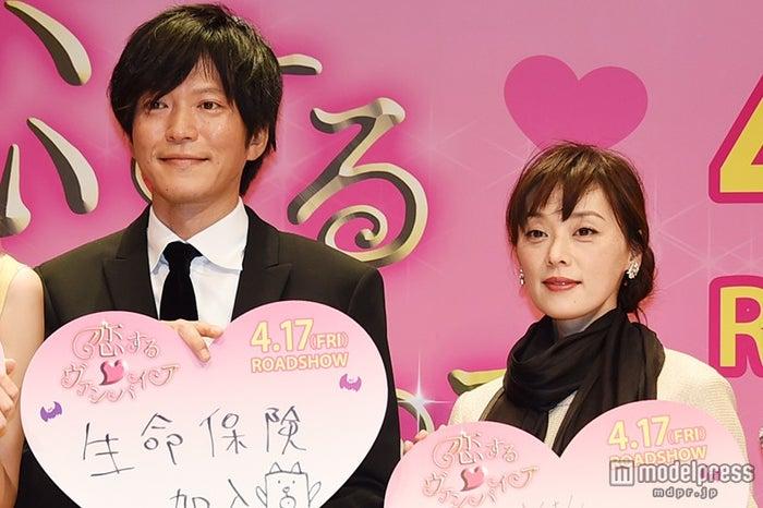 田辺誠一&大塚寧々、初の夫妻役共演は役作りなし?桐谷美玲は「憧れ過ぎてにやけちゃう」【モデルプレス】