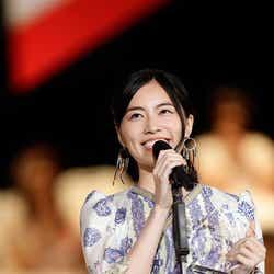 モデルプレス - SKE48松井珠理奈、自己最高順位に笑顔「あと5年は卒業しません!」<第8回AKB48選抜総選挙>