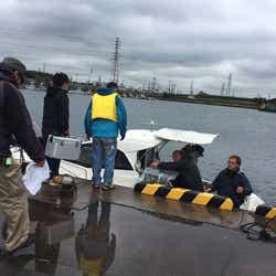 最終話漁港でのロケ風景 (画像提供:東海テレビ放送)