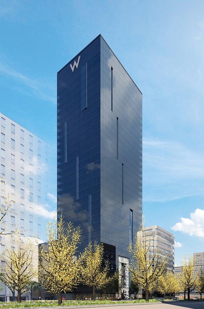 「Wホテル」日本上陸、大阪に「W OSAKA」21年開業へ/画像提供:マリオット・インターナショナル