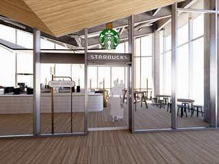 スタバ「高輪ゲートウェイ駅」に出店 半個室&wi-fi完備でビジネス利用に特化
