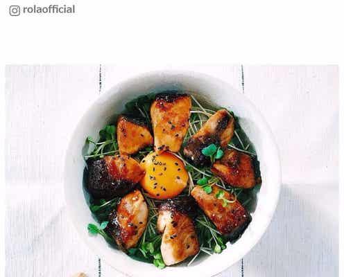 """ローラの""""ヘルシー丼""""が美味しそう!料理初心者にもおすすめメニュー"""