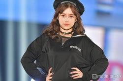 元AKB48奥真奈美、7年ぶり芸能界復帰で堂々ランウェイ<関コレ2018S/S>