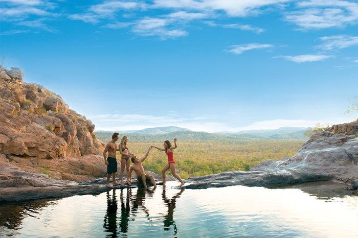 世界遺産カカドゥ国立公園・ガンロム滝/画像提供:ノーザンテリトリー政府観光局