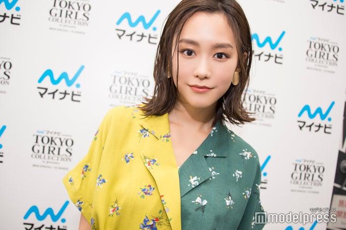 モデルプレスのインタビューに応じた桐谷美玲 (C)モデルプレス