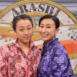 モデルプレス - 嵐・櫻井翔も驚く「姉妹ツーショット」浅田舞・真央姉妹が2人で初の試み