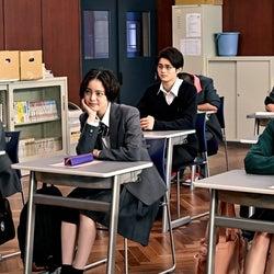 加藤清史郎、平手友梨奈、鈴鹿央士、南沙良、志田彩良「ドラゴン桜」第9話より(C)TBS