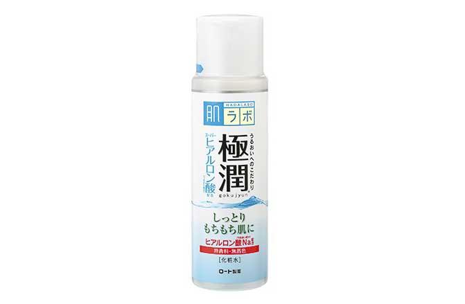 しっとり、もちもち肌に「極潤 ヒアルロン液 ハダラボモイスト化粧水b」