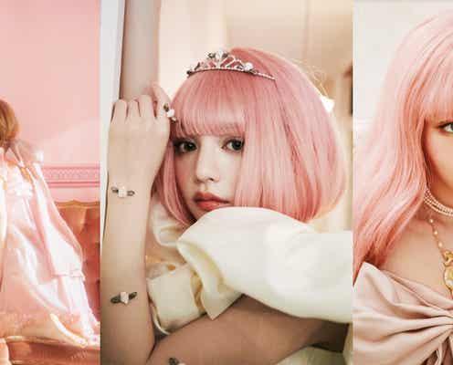 戦慄かなの&吉木千沙都、ピンク髪姿を初披露