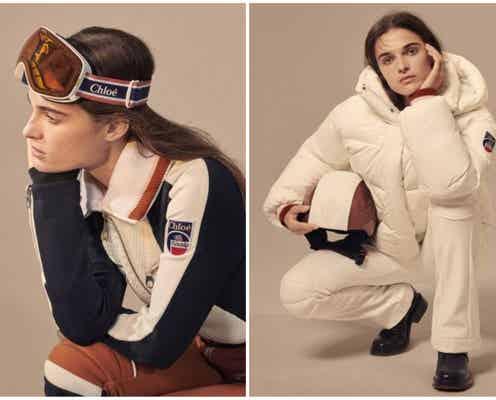 「クロエ」 スキーウェアの「フザルプ」と初のコラボカプセルコレクション登場