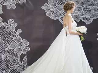 思わず見とれる美しさ♪ 後ろ姿にも気品漂うノバレーゼの最新ウエディングドレス