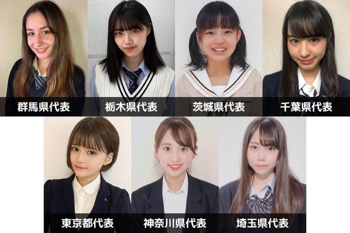 「女子高生ミスコン2019」関東エリアの代表者が決定