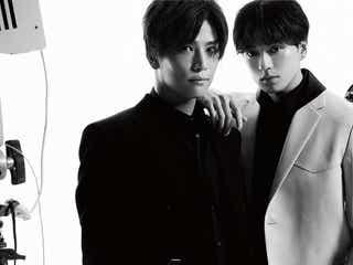 三代目JSB岩田剛典、新田真剣佑は「天使みたい」 2ショットで「Numero TOKYO」表紙に登場