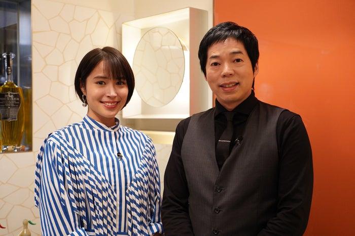 広瀬アリス、今田耕司(C)日本テレビ