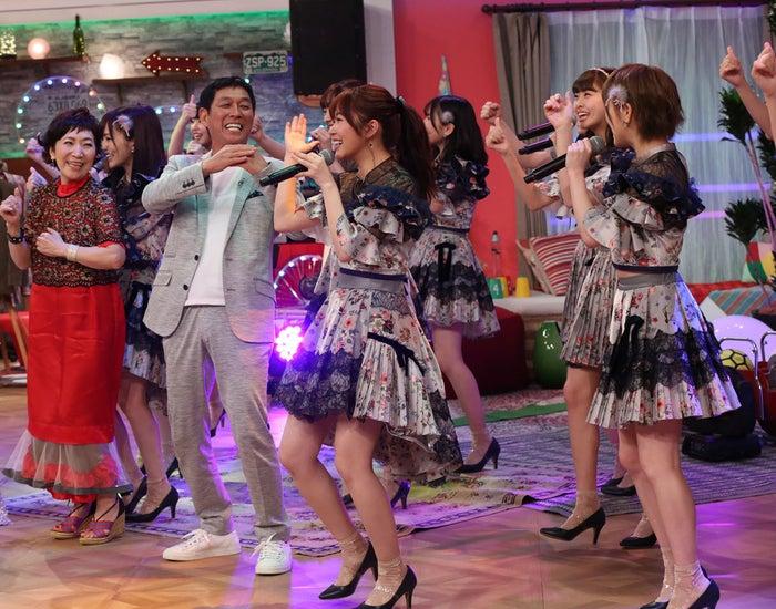 明石家さんま、AKB48に厳しい指導&ダメ出し(写真提供:NHK)