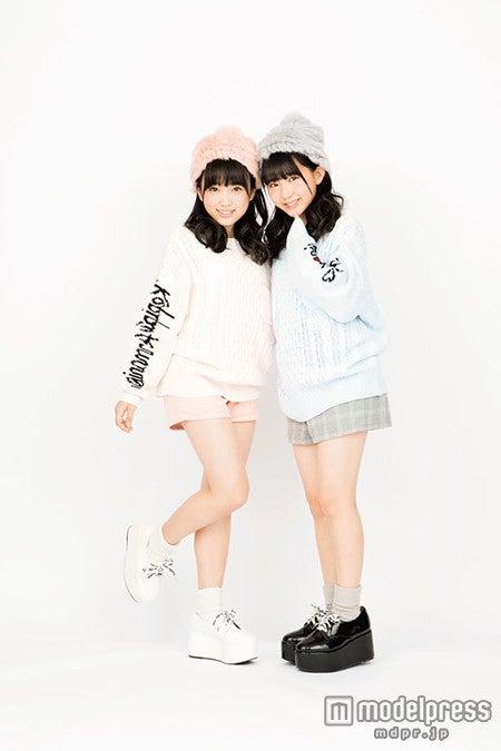 HKT48矢吹奈子、田中美久(画像提供:徳間書店)