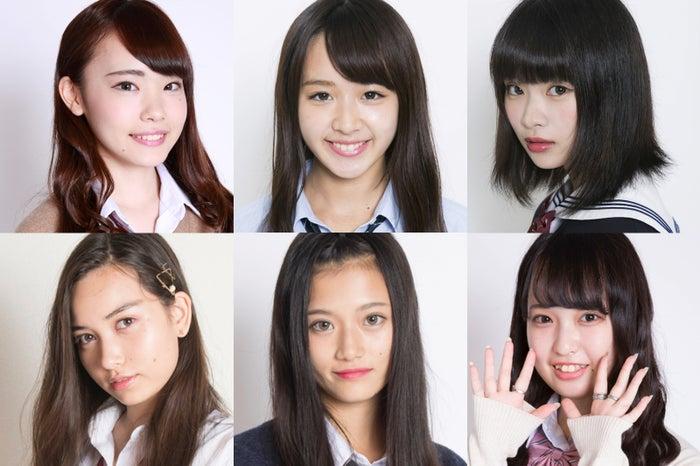 「女子高生ミスコン2017-2018」関東予選の候補者一部