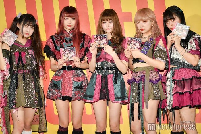 ZOC/左から:西井万理那、藍染カレン、戦慄かなの、香椎かてぃ、兎凪さやか (C)モデルプレス(C)モデルプレス